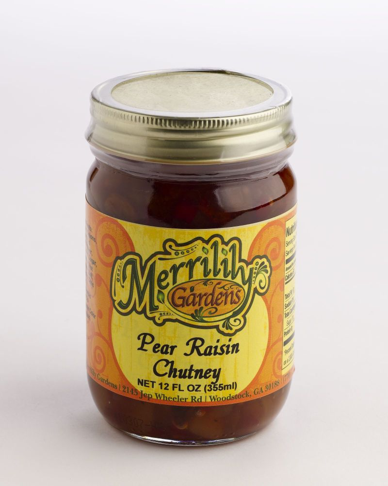 Pear Raisin Chutney
