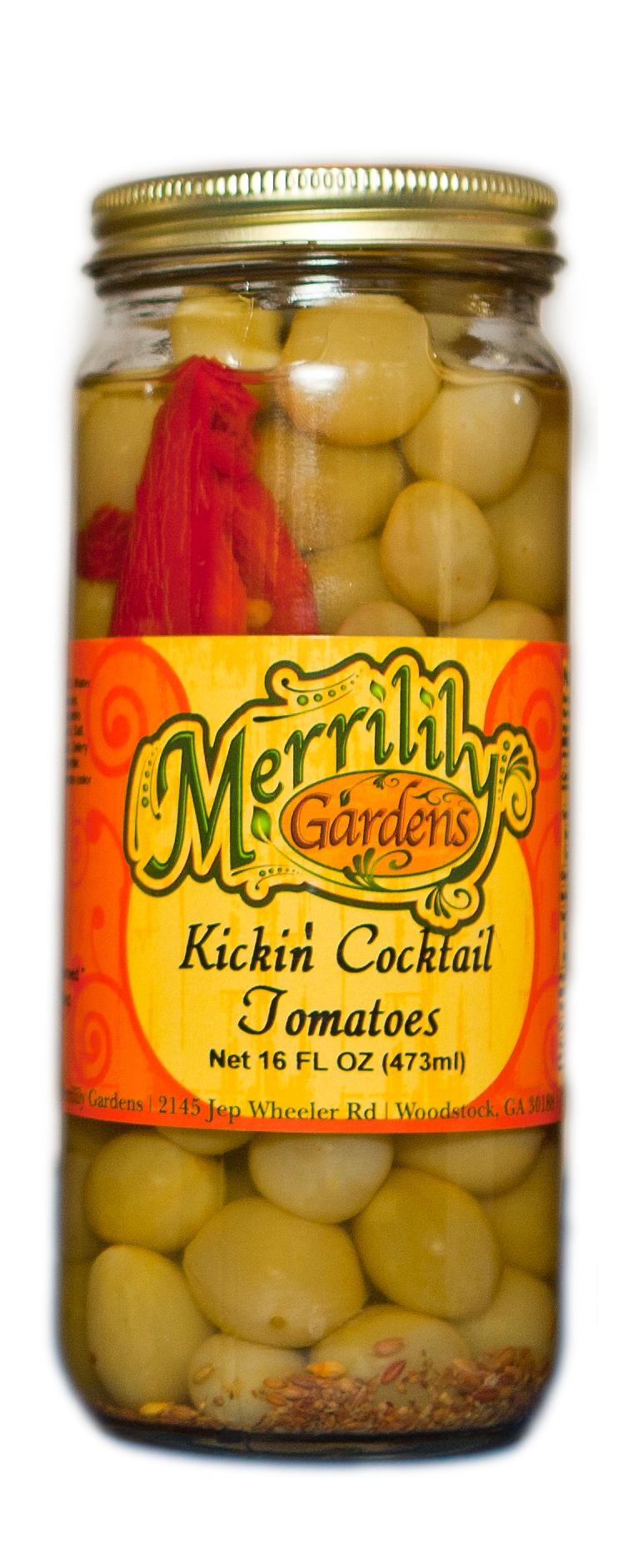 Kickin' Cocktail Tomatoes