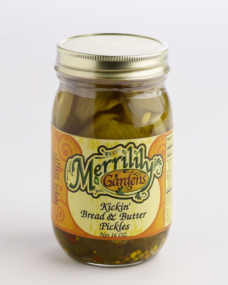Kickin' Bread and Butter Pickles